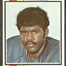 CHICAGO BEARS JIM HARRISON 1973 TOPPS # 402 G