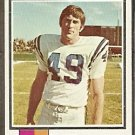 BALTIMORE COLTS DAVID LEE 1973 TOPPS # 404 G