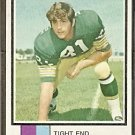 GREEN BAY PACKERS RICH McGEORGE 1973 TOPPS # 424 G