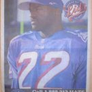NEW ENGLAND PATRIOTS DAVE MEGGETT 1996 LIDS ADVERTISEMENT POSTER