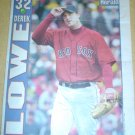 BOSTON RED SOX DEREK LOWE 2004 BOSTON NEWSPAPER POSTER