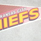 "KANSAS CITY CHIEFS 29"" PENNANT"