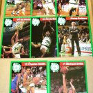 8 DIFFERENT 1990 BOSTON CELTICS PIN-UP PHOTOS BAGWELL KLEINE PAXSON ROGERS PINKNEY SMITH