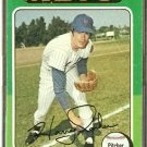 NEW YORK METS HARRY PARKER 1975 TOPPS # 214 G