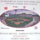 BOSTON RED SOX AMERICAN RED CROSS SPECIAL 9/11 T-SHIRT XL NEW WITHOUT TAGS FENWAY PARK