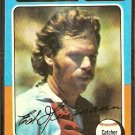 CHICAGO WHITE SOX ED HERRMANN 1975 TOPPS # 219