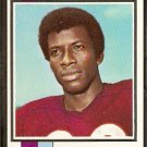 DENVER BRONCOS JERRY SIMMONS 1973 TOPPS # 484 VG