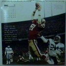 SAN FRANCISCO FORTY NINERS DWIGHT CLARK THE CATCH PINUP PHOTO