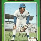 CHICAGO CUBS JERRY MORALES 1975 TOPPS # 282 VG