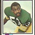 GREEN BAY PACKERS FRED CARR ROOKIE CARD 1973 TOPPS # 521 VG