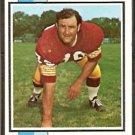 WASHINGTON REDSKINS ROLAND McDOLE 1973 TOPPS # 524 VG