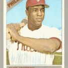 PHILADELPHIA PHILLIES ALEX JOHNSON TRADED LINE 1966 TOPPS # 104 VG