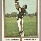 CINCINNATI BENGALS ESSEX JOHNSON 1974 TOPPS # 35 EX