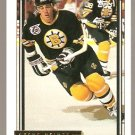BOSTON BRUINS STEVE HEINZE ROOKIE CARD RC 92/93 TOPPS GOLD # 519