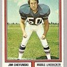 Buffalo Bills Jim Cheyunski 1974 Topps Football Card # 53 ex+