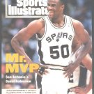 SAN ANTONIO SPURS DAVID ROBINSON 1994 SPORTS ILLUSTRATED LILLEHAMMER OLYMPICS SPECIAL