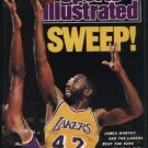 LAKERS JAMES WORTHY 1989 SPORTS ILL INDY 500 THOMAS HEARNS CINCY REDS CALGARY FLAMES STANLEY CUP