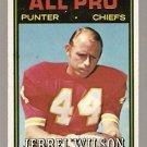 Kansas City Chiefs Jerrel Wilson 1974 Topps Football Card 144 vg