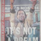 2004 BOSTON RED SOX PEDRO MARTINEZ ITS NOT A DREAM NEWSPAPER POSTER