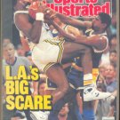 LAKERS MAGIC JOHNSON UTAH JAZZ 1988 SI BOSTON BRUINS ZOLA BUDD JOHN HAVLICEK LOU GROZA P NIEKRO