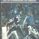 DALLAS COWBOYS CALVIN HILL 1971 SPORTS ILLUSTRATED 11 PAGE BOXING ARTICLE PAN AM GAMES
