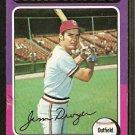 ST LOUIS CARDINALS JIM DWYER 1975 TOPPS # 429 G