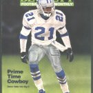 DALLAS COWBOYS DEION SANDERS CHICAGO BEARS SALLAAM INDY COLTS COVERS 11/95 BECKETT