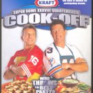 FORTY NINERS JOE MONTANA MIAMI DOLPHINS DAN MARINO COVER KRAFT SUPER BOWL XXXVIII COOKOFF BOOKLET