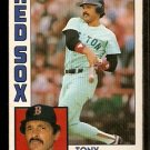 BOSTON RED SOX TONY ARMAS 1984 OPC O PEE CHEE # 105 NR MT