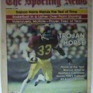 USC TROJANS MARCUS ALLEN 1981 SPORTING NEWS PINUP PHOTO