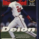 1992 SI ATLANTA BRAVES DEION SANDERS OAKLAND ATHLETICS UTAH JAZZ KARL MALONE LOS ANGELES LAKERS