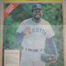 BOSTON RED SOX LEE SMITH 1988 NEWSPAPER POSTER