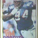 NEW ENGLAND PATRIOTS TIM ROBERTS 1995 NEWSPAPER POSTER