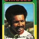 BALTIMORE ORIOLES TOMMY DAVIS 1975 TOPPS # 564 VG