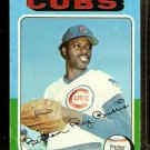 CHICAGO CUBS RAY BURRIS 1975 TOPPS # 566 G/VG