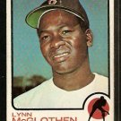 BOSTON RED SOX LYNN McGLOTHEN 1973 TOPPS # 114 G
