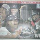BOSTON RED SOX SHOCK WORLD 2004 POSTER CURT SCHILLING JOHNNY DAMON BIG PAPI DAVID ORTIZ MANNY