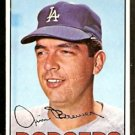 LOS ANGELES DODGERS JIM BREWER 1967 TOPPS # 31 EX