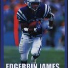 INDIANAPOLIS COLTS EDGERRIN JAMES 2000 PINUP PHOTO