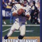 INDIANAPOLIS COLTS PEYTON MANNING 2000 PINUP PHOTO INDY
