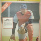BOSTON RED SOX RICH GEDMAN 1988 NEWSPAPER POSTER