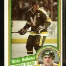 MINNESOTA NORTH STARS BRIAN BELLOWS 1984 TOPPS # 71 EM/NM
