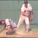 BOSTON RED SOX JODY REED 1989 PINUP PHOTO