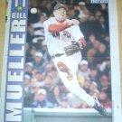 BOSTON RED SOX BILL MUELLER 2004 NEWSPAPER POSTER