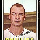 PHILADELPHIA PHILLIES BOB BUHL 1967 TOPPS # 68 EX MT