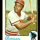 CINCINNATI REDS JOE MORGAN 1973 TOPPS # 230 VG/EX