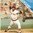 BOSTON RED SOX 1977 PINUP PHOTOS BILL LEE JIM WILLOUGHBY
