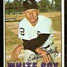 CHICAGO WHITE SOX EDDIE STANKY 1967 TOPPS # 81 VG