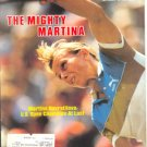 1983 SI NAVRATILOVA U.S. OPEN ALABAMA CRIMSON TIDE PHILADELPHIA EAGLES BREWERS BOXING