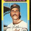 BALTIMORE ORIOLES JIM FULLER 1975 TOPPS # 594 VG
